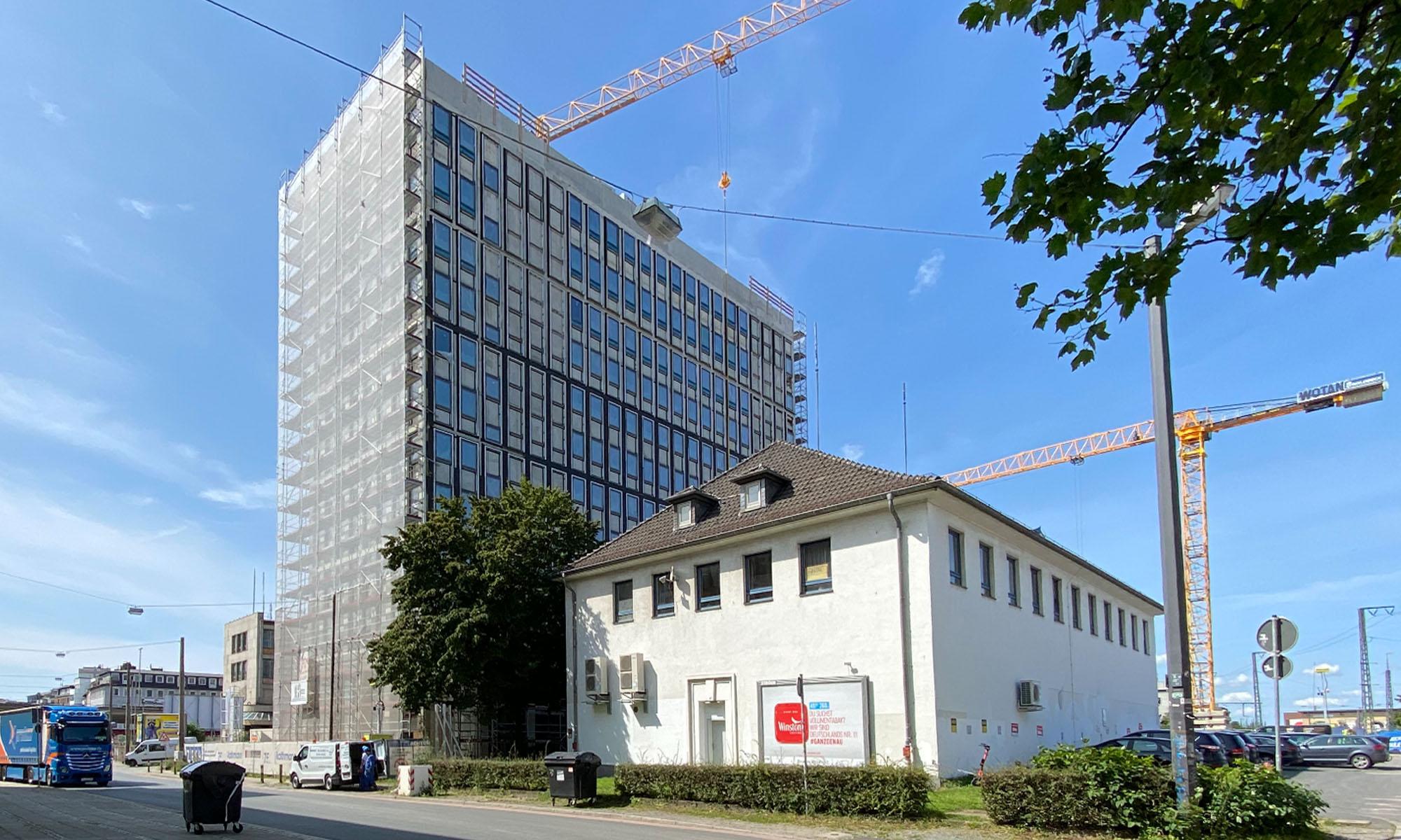 Hochhaus am Fernbsuterminal Bremen